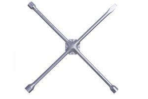 Chave de roda tipo cruz com espátula - 01