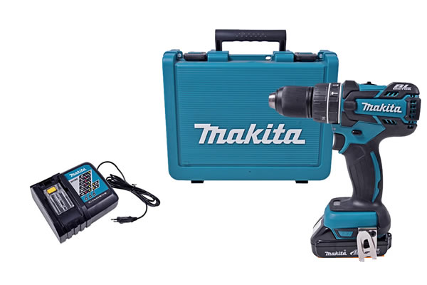 Furadeira e Parafusadeira Makita - Mod. F451DWE - 18V 1_2 Bateria
