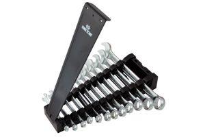 Jogo de chave combinada plana slim com 12 peças - 01