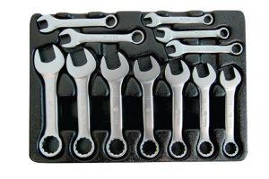 Jogo de mini chave combinada com 12 peças 01